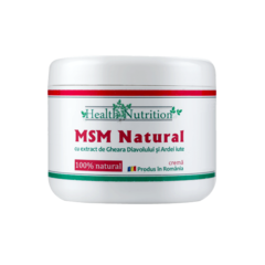 MSM Natural Cremă 200 ml